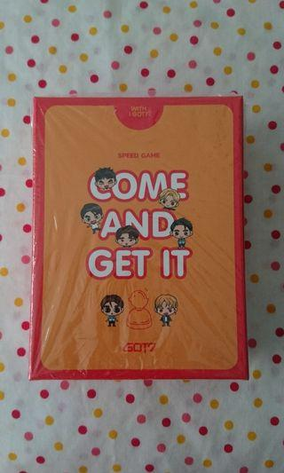 GOT7 Eyes On You in Seoul Speed Game