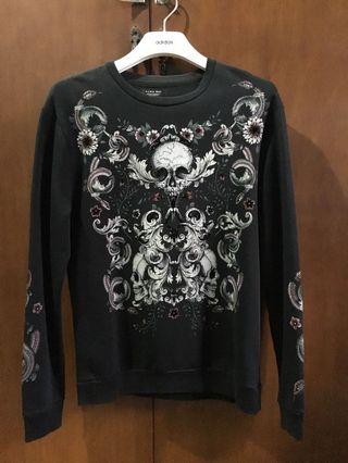 Zara sweatshirt embroidered