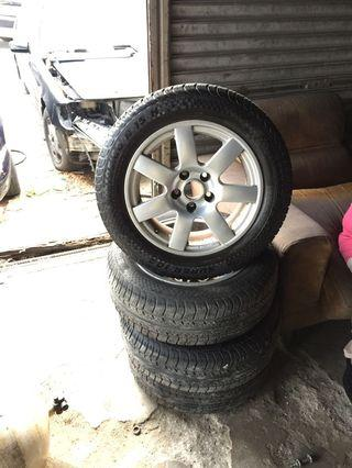 Rim/Sportrims with Tyre