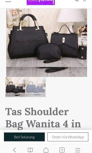 Tas dompet sholder bag wanita mewah berkualitas