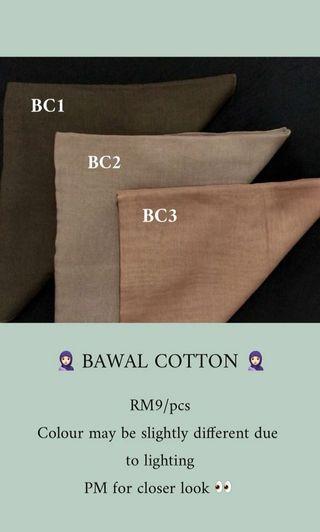 Bawal Cotton Plain Kuching