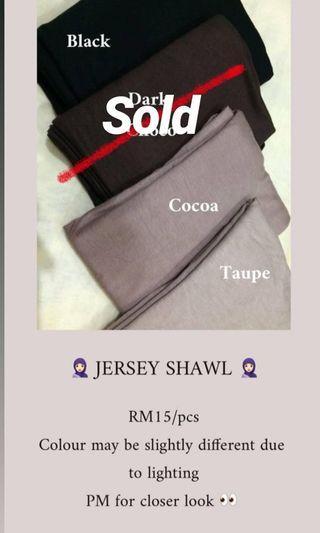 Shawl Jersey/Shawl Malas
