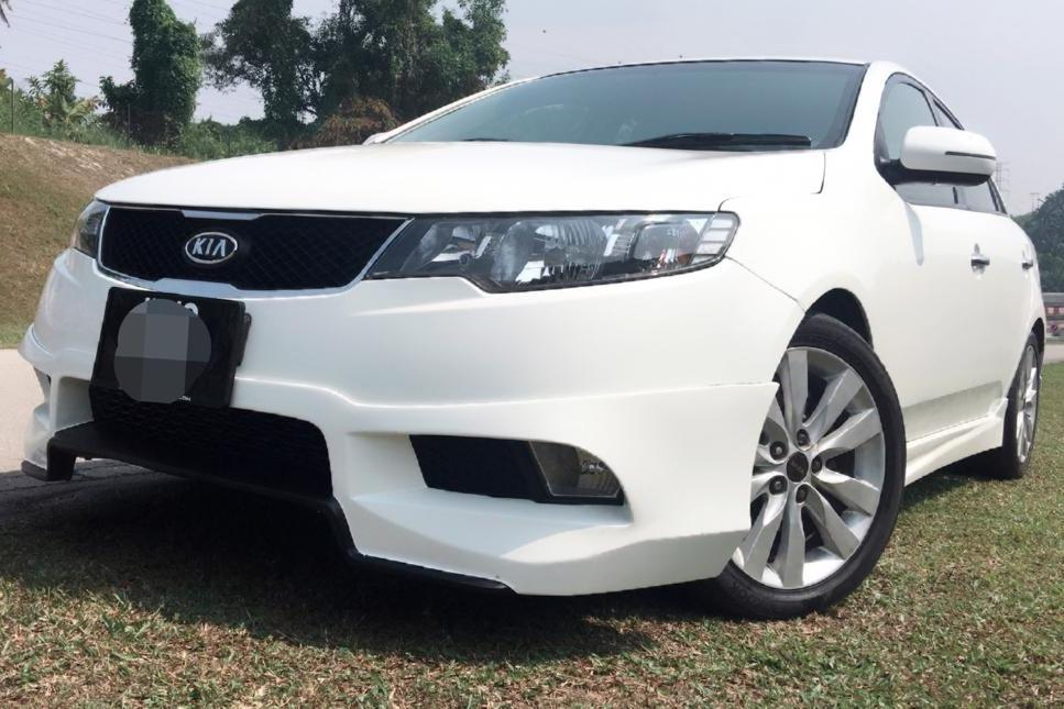 2011 Kia Naza Forte 1.6 SX (A) B/L Loan Kedai Dp 3K