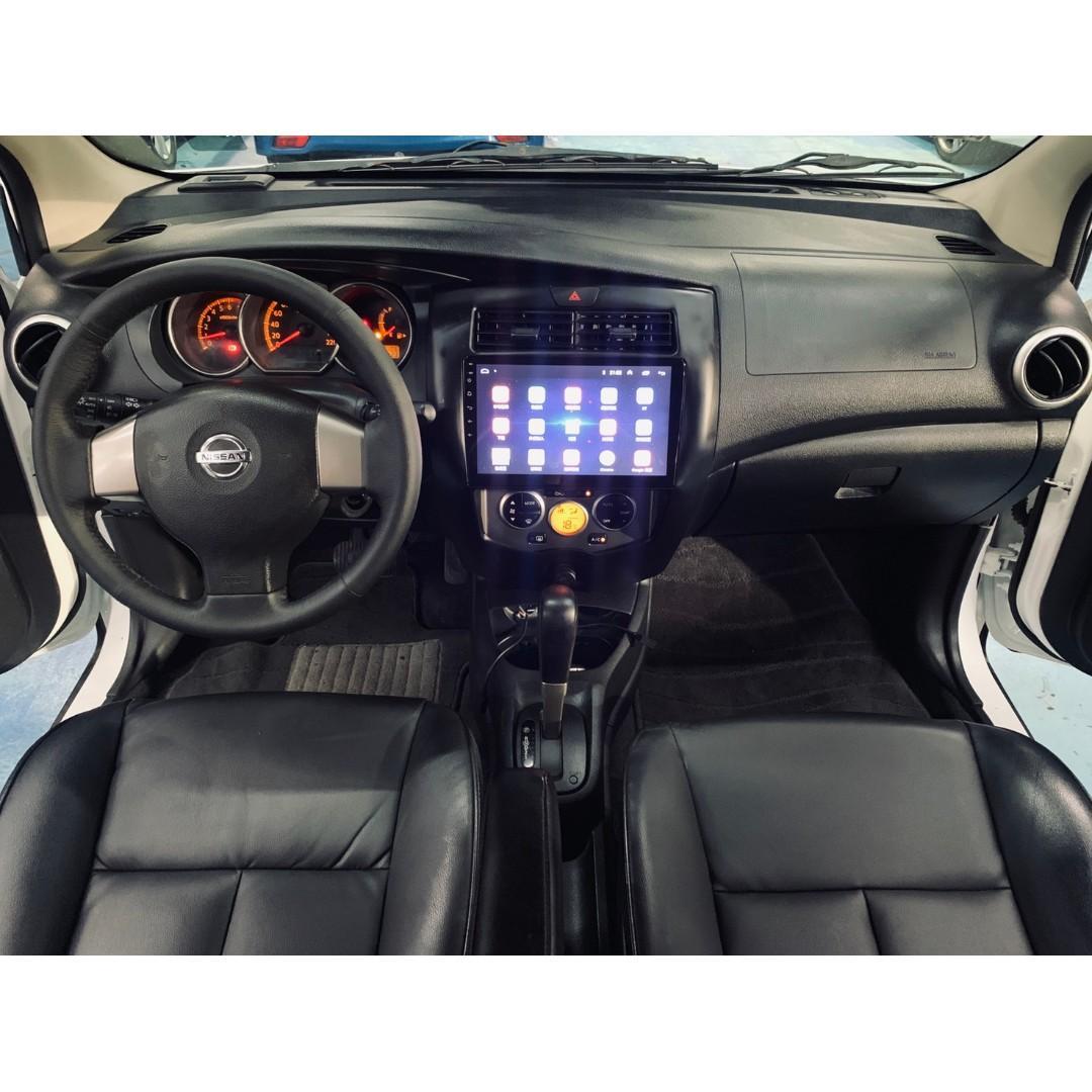 正2012年出廠 最新款 Nissan Livina 1.6免鑰匙啟動~只賣19.8萬