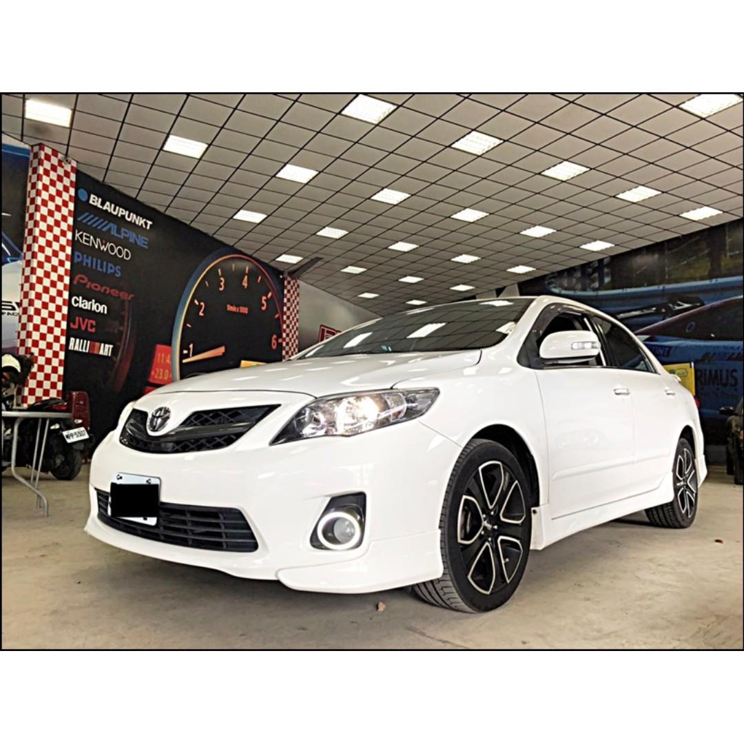2012 Toyota Corolla Altis 2.0 Z  3500交車