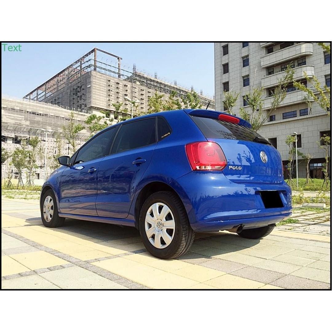 2012 Volkswagen Polo 1.4 時尚小資女首選