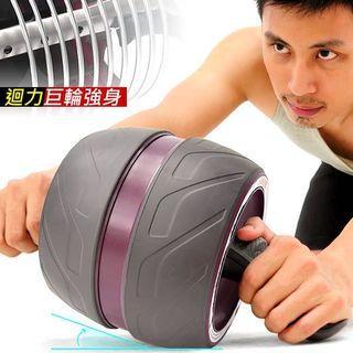 「9.9成新」自動迴力健身滾輪