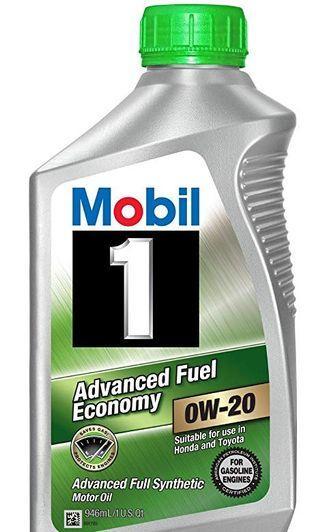 Mobil 1 0w-20 Advance Fuel Economy  (1QT) Engine Oil