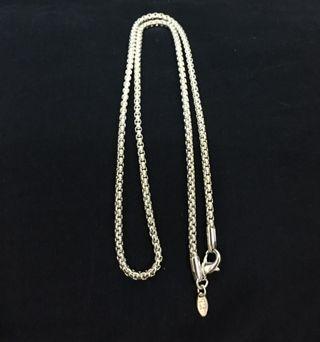 Silver necklace 銀項鍊