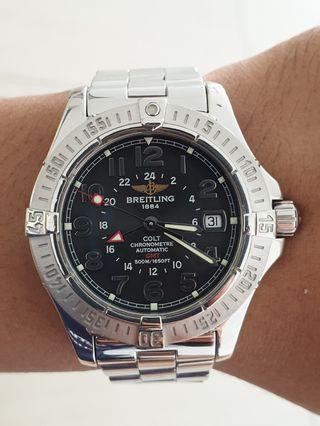 Breitling Colt Chronometre Automatic GMT 500M Steel ORIGINAL