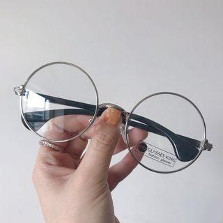 [全新] 復古圓框細框造型眼鏡