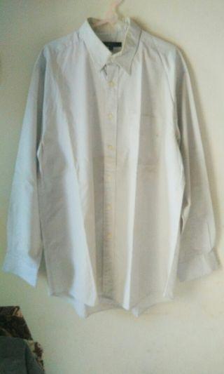 Kemeja Putih Lengan Panjang G2000