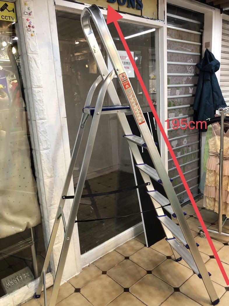 安全6級鋁梯。企到最高有扶手
