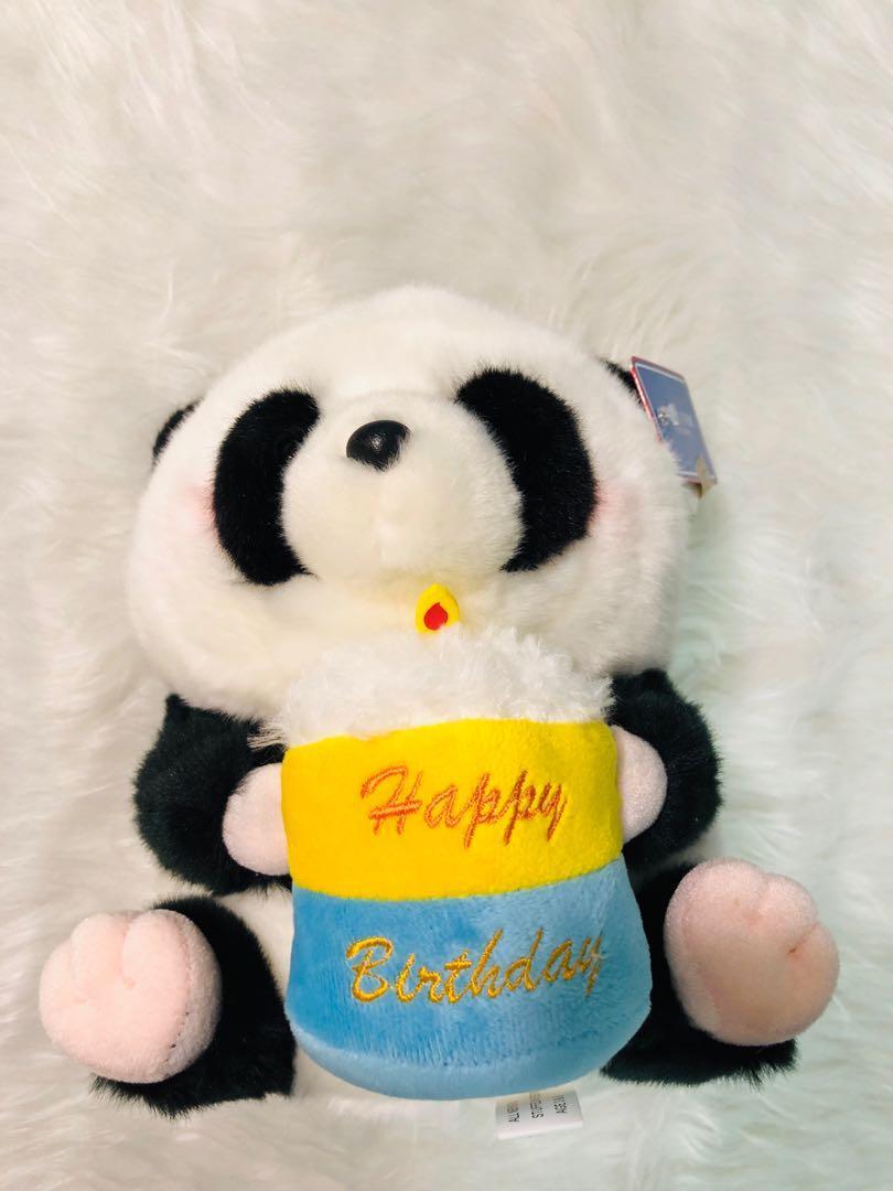海洋公園熊貓生日公仔