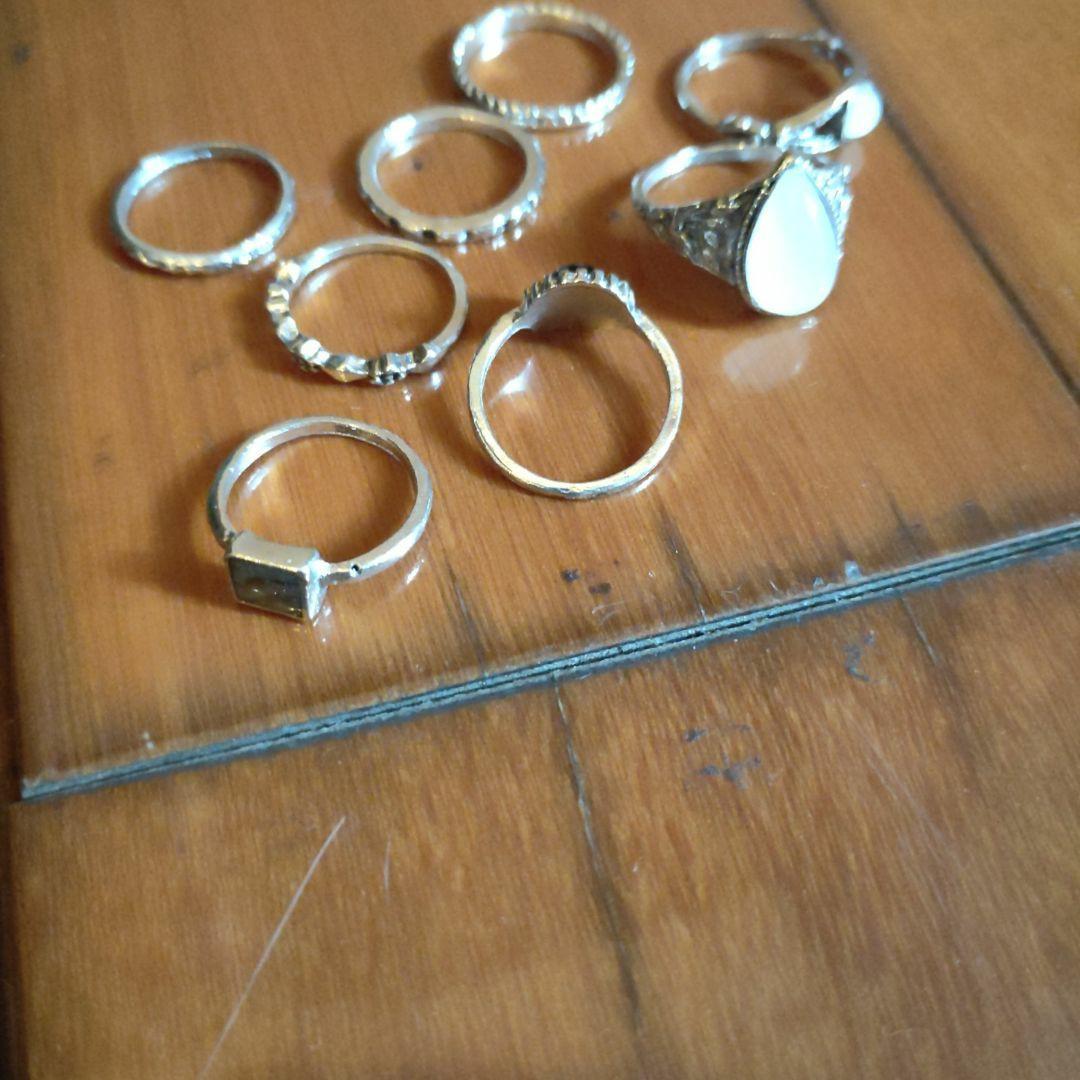 一堆戒指  #恭喜旋轉七歲囉