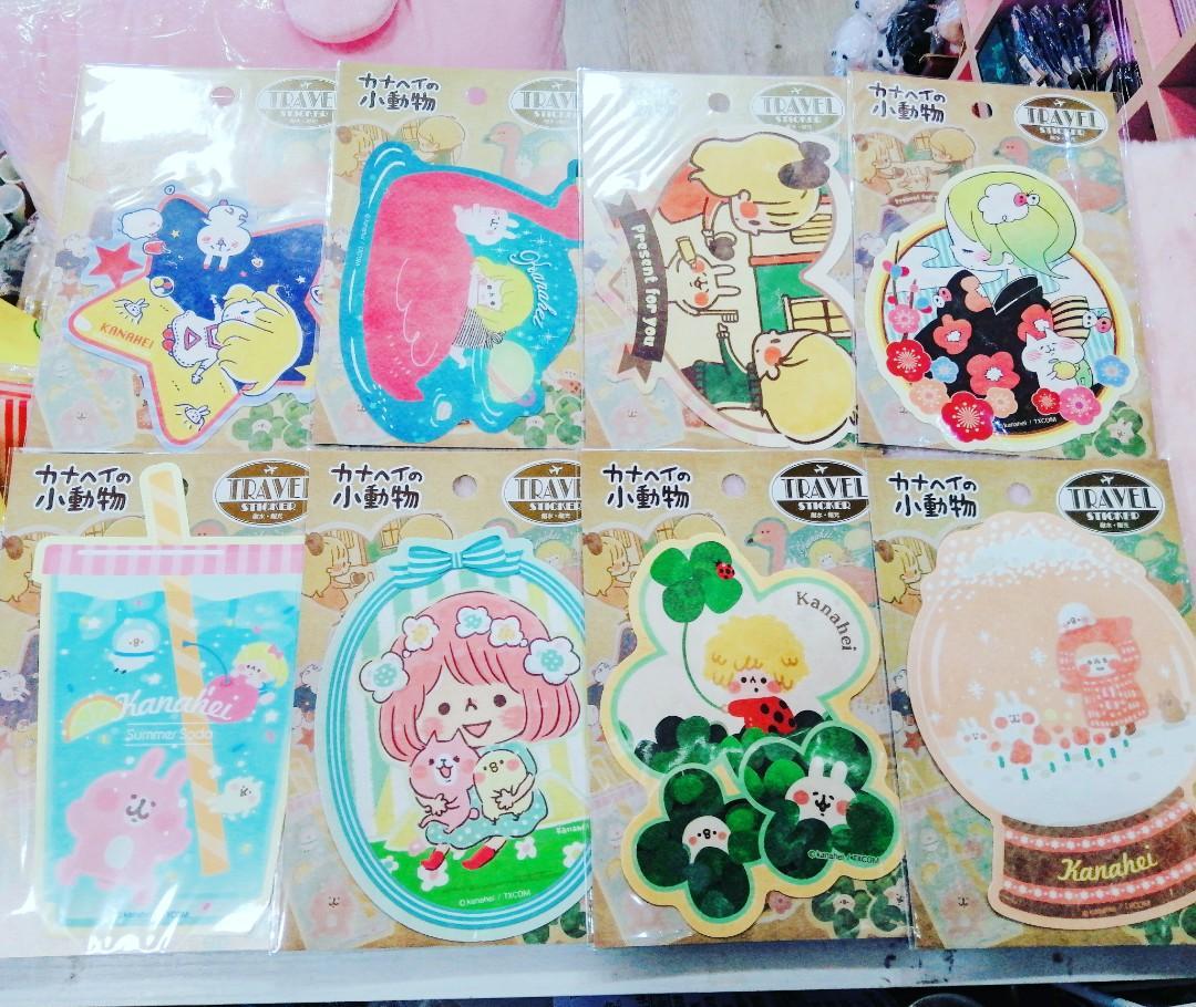 日本 🎨kanahei 15th展🎨 行李貼紙