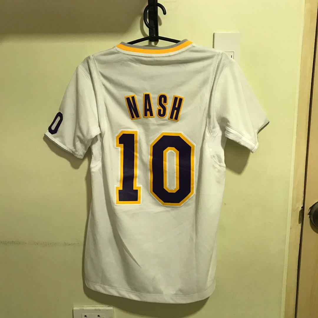 new concept cfdcb 382d4 Adidas Nash Lakers Jersey on Carousell