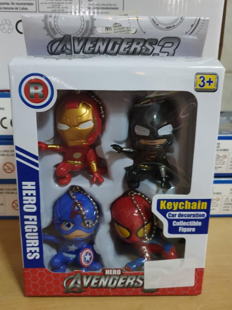 Avenger keychain (come with 4pcs)