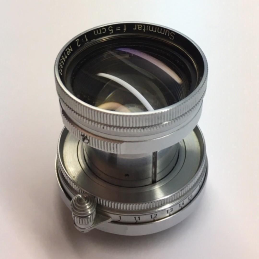 Beautiful Classic Leica Lens ltm Summitar 5cm (50mm) f2