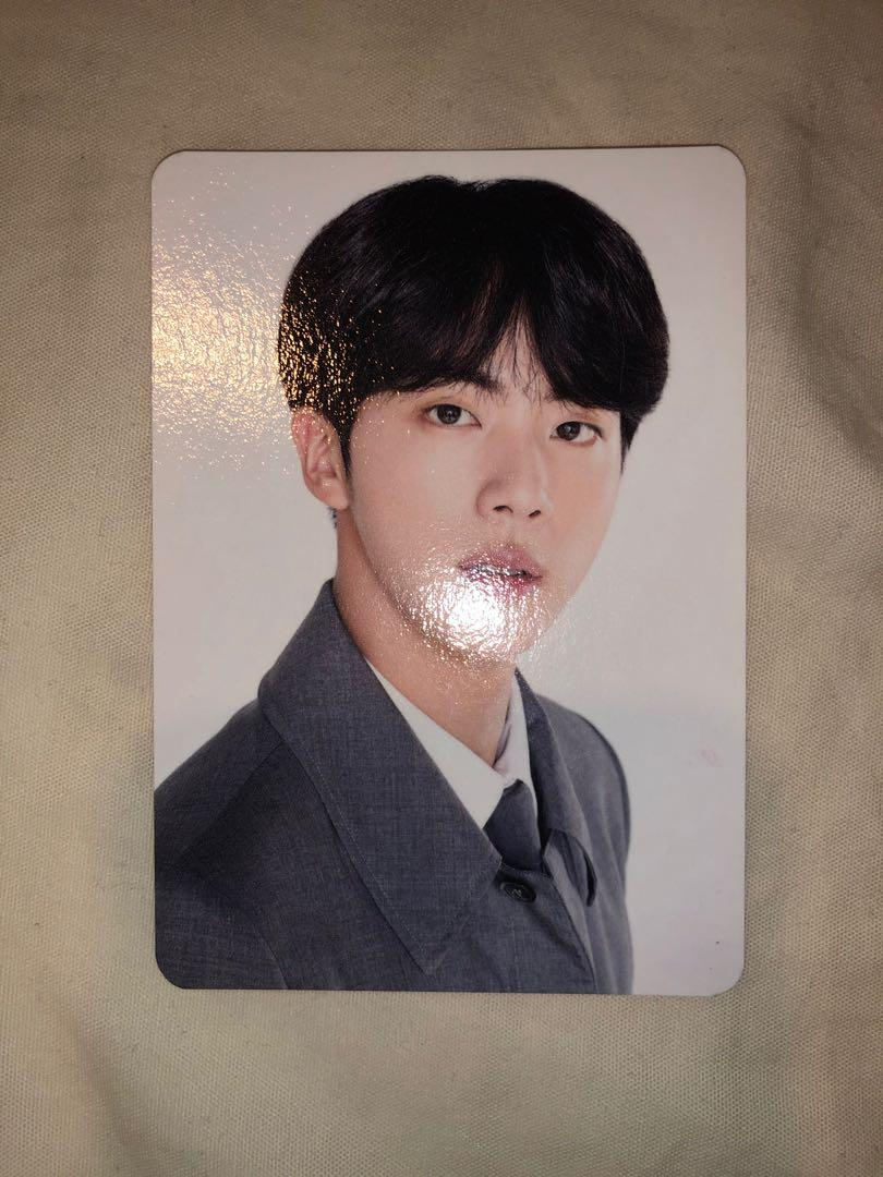 ⭐️ BTS JIN OFFICIAL 4TH MUSTER MINI PHOTOCARD [SET]