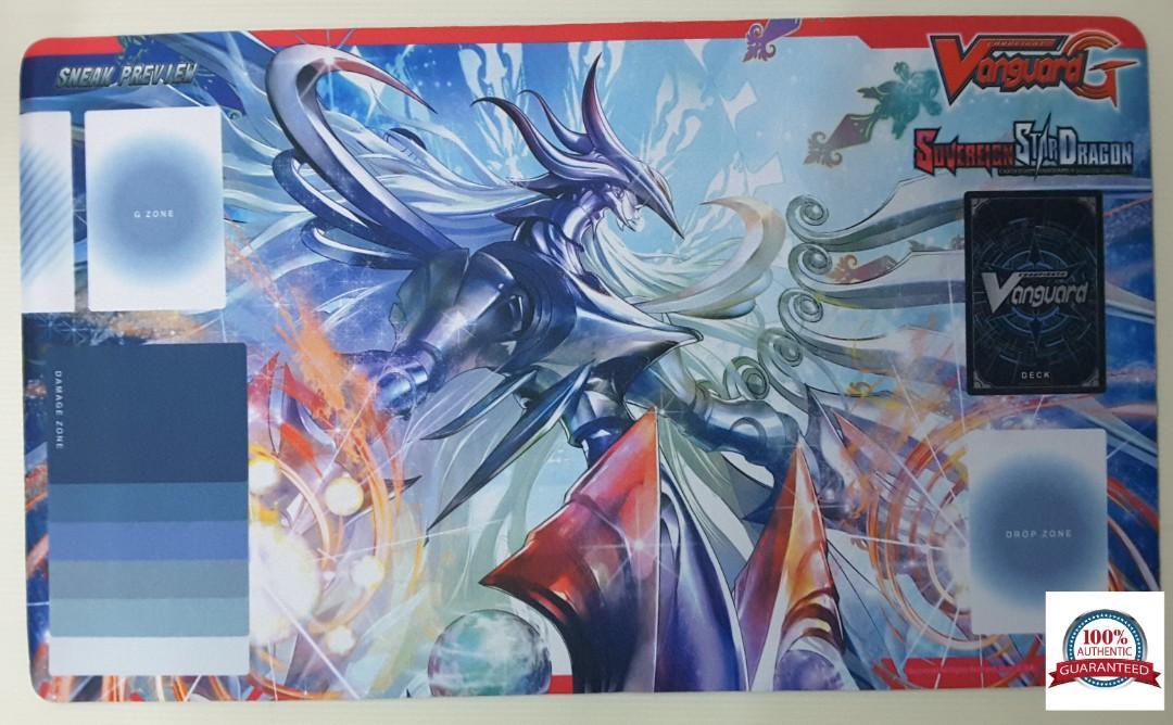 Cardfight Vanguard Playmat - Genesis Dragon, Amnesty Messiah