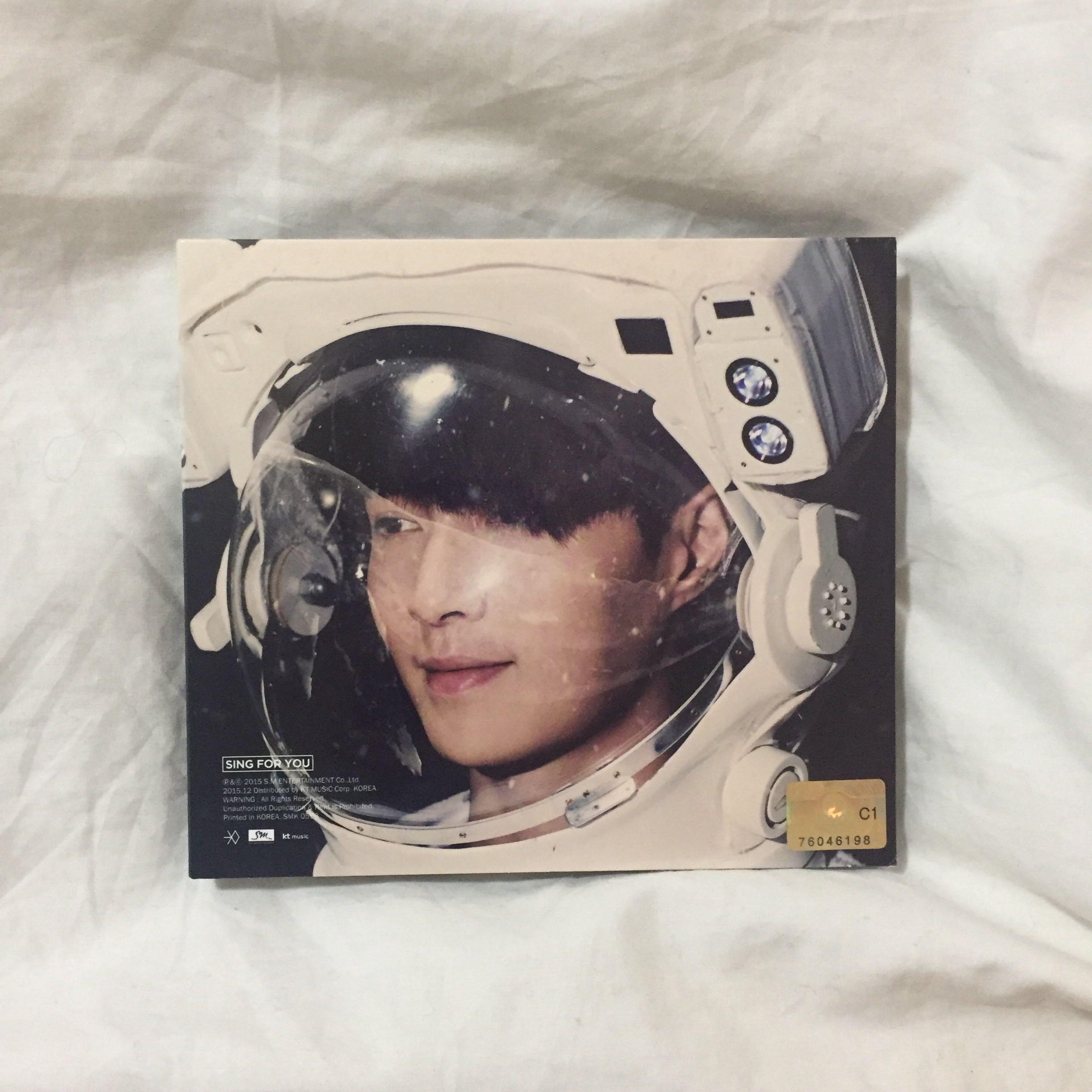 💿EXO Sing For You (Lay, Chinese ver.) Kpop Album CD + Photobook + Chen photocard