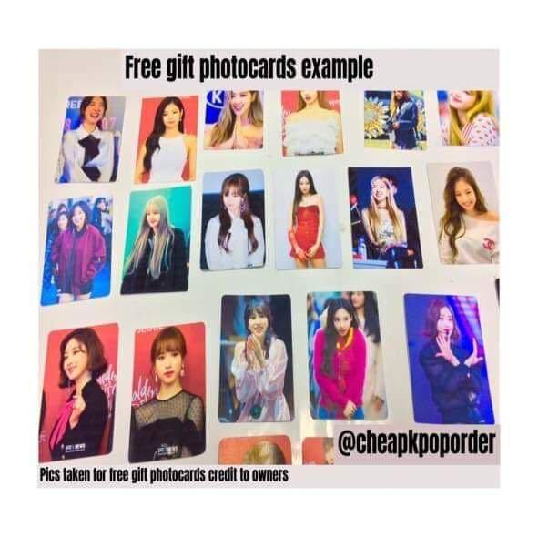 FANATICS - THE SIX - PREORDER/NORMAL ORDER/GROUP ORDER/GO + FREE GIFT BIAS PHOTOCARDS (1 ALBUM GET 1 SET PC, 1 SET HAS 9 PC)