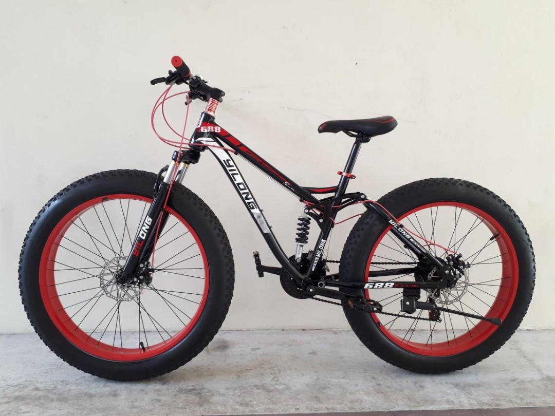 Fat bike, full suspension, mountain bike for sale, Bicycles