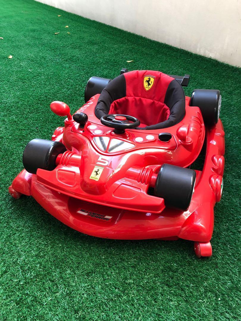 Ferrari F1 Baby Walker Babies Kids Toys Walkers On Carousell