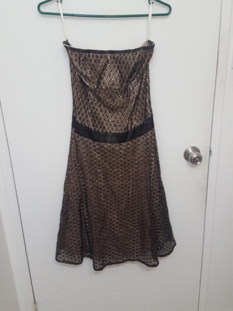 French Connection Strapless Dress