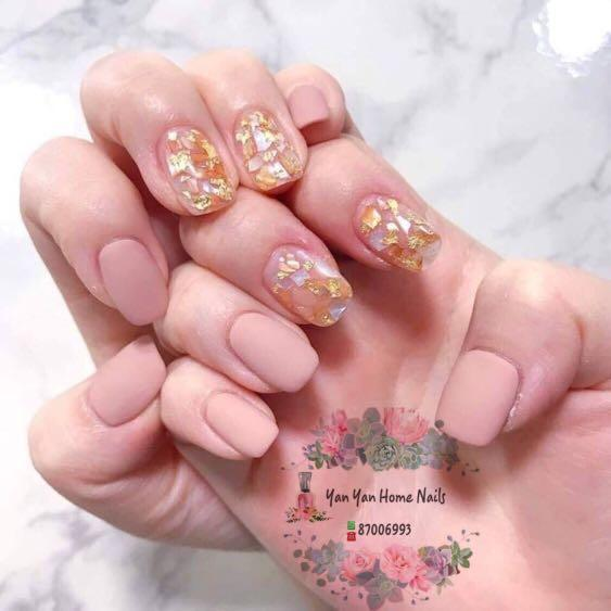 Gel Manicure and Pedicure service