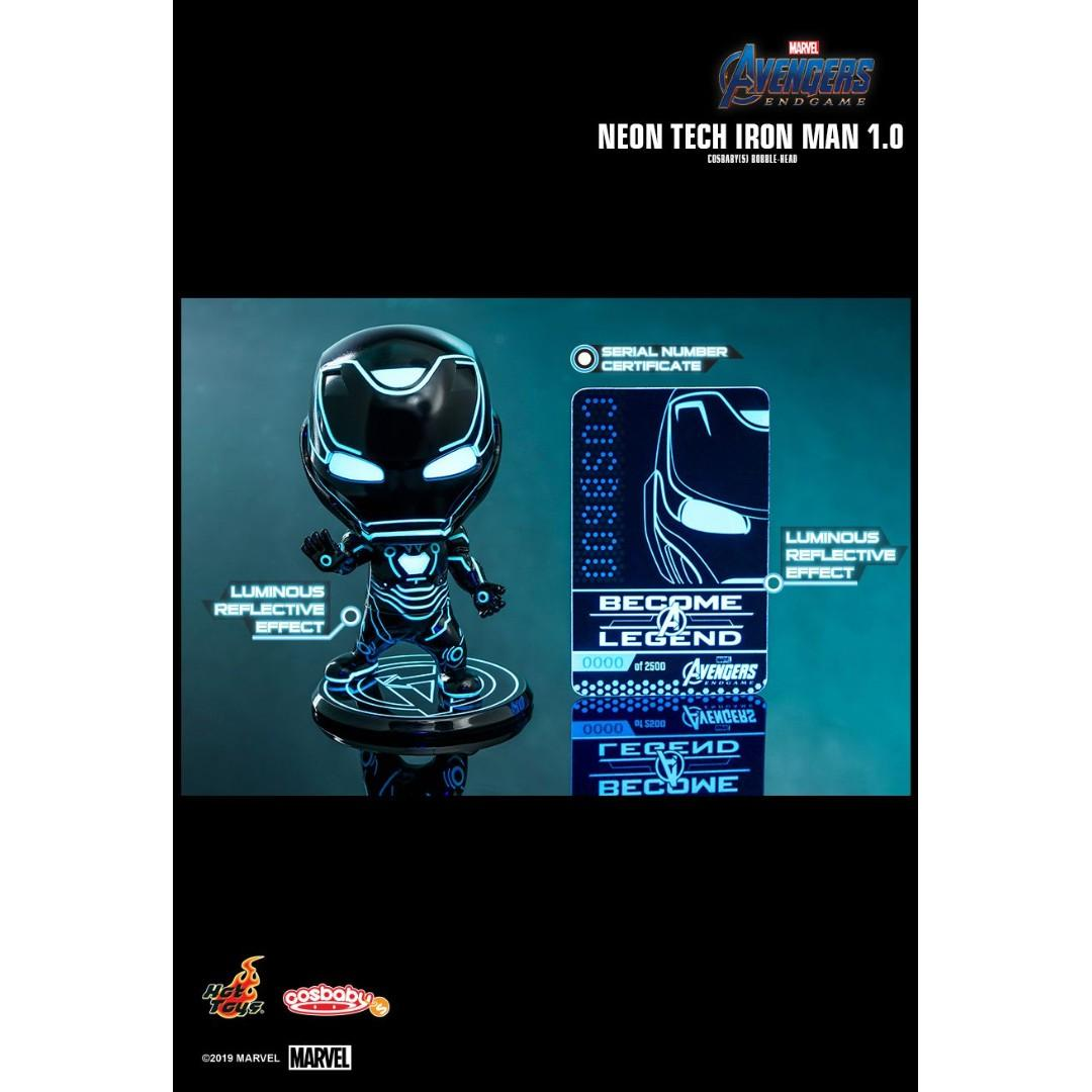 Hot Toys COSB600 Neon Tech Iron Man 1.0 Cosbaby