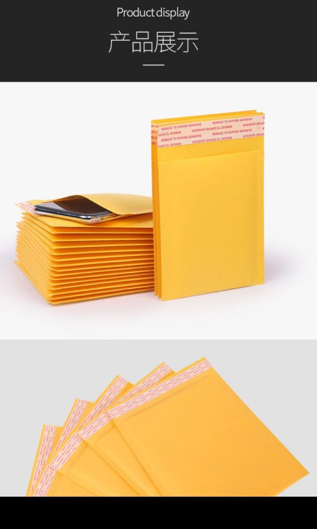 Gold Bubble Envelopes All Sizes and Quantities