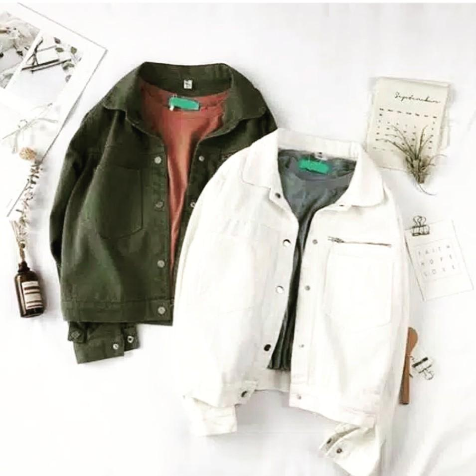Jacket wht/army