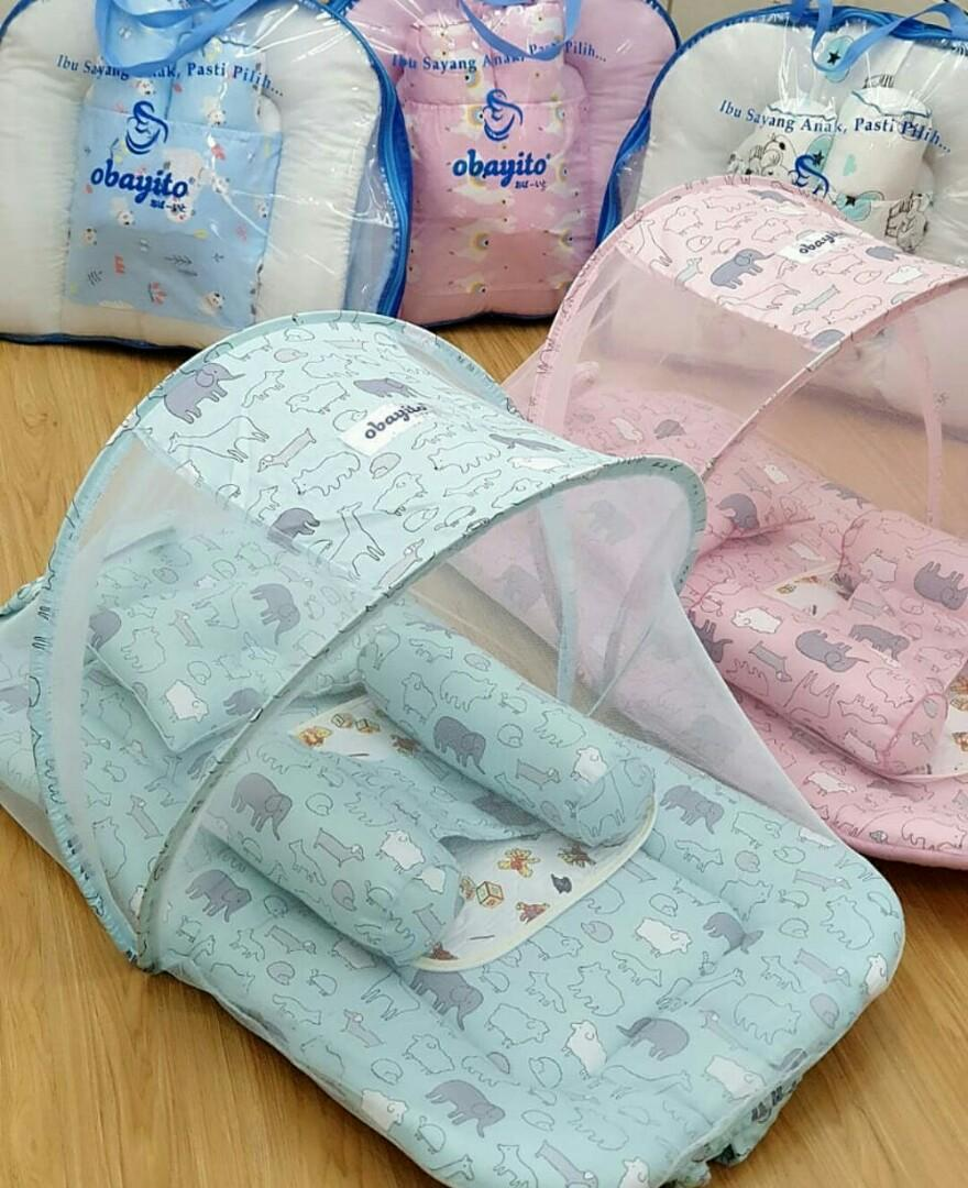 kasur kelambu bayi by obayito