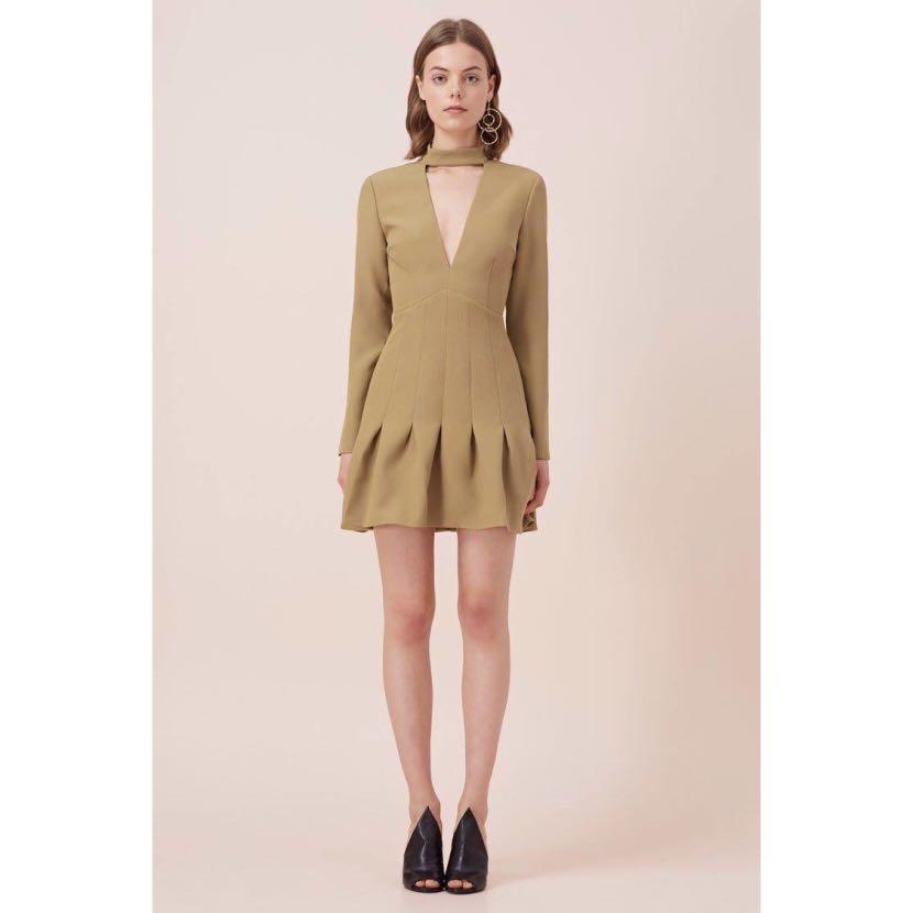 Keepsake the Label 'Stand Alone' Long Sleeve Dress