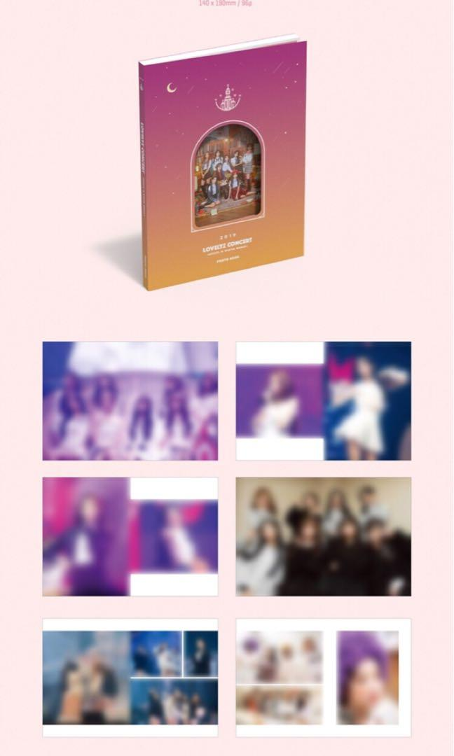 🌺Lovelyz🌺 2019 LOVELYZ Concert Lovelyz In Winter World 3 (Blue-ray)