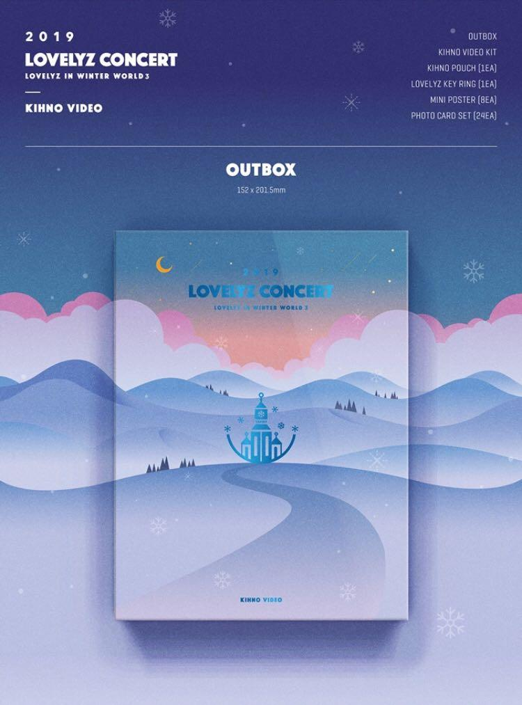 🌺Lovelyz🌺 2019 LOVELYZ Concert Lovelyz In Winter World 3 (KIHNO VIDEO)