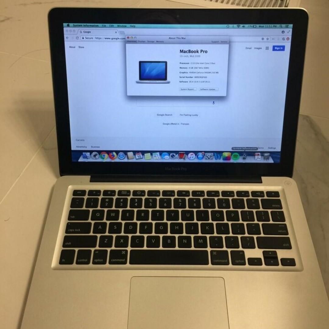 MacBook Pro Mid 2009 - 500GB, 2.53Ghz, 4GB RAM, Intel Core 2 Duo