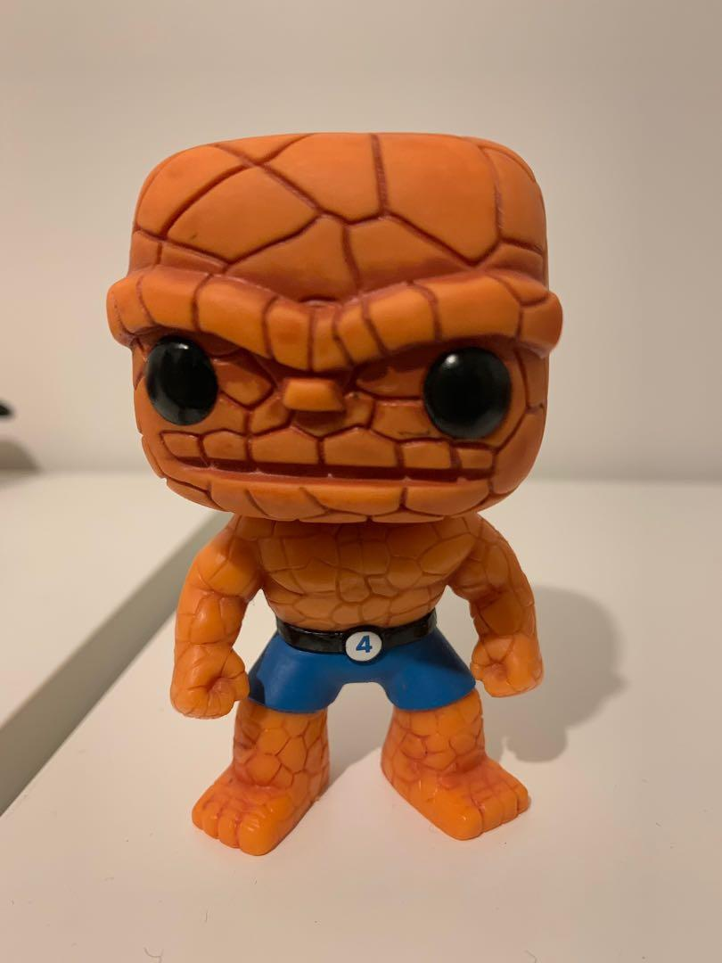 Marvel Fantastic Four The Thing Pop Vinyl - Out of box