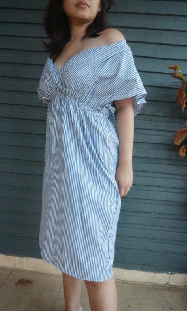 Midi dress Nagita Lookalike
