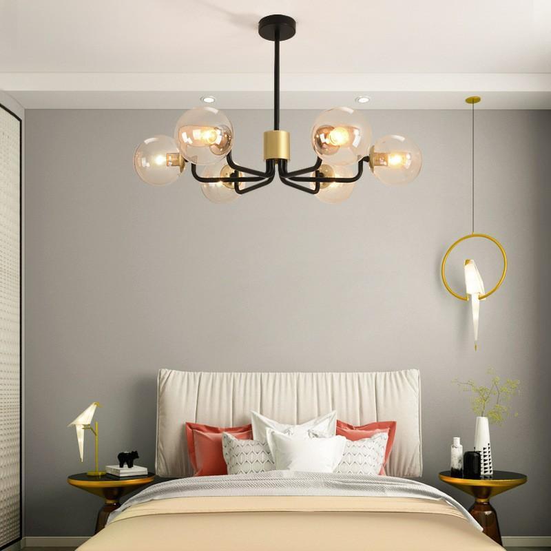 Multi L shaped hybrid ceiling pendant lights