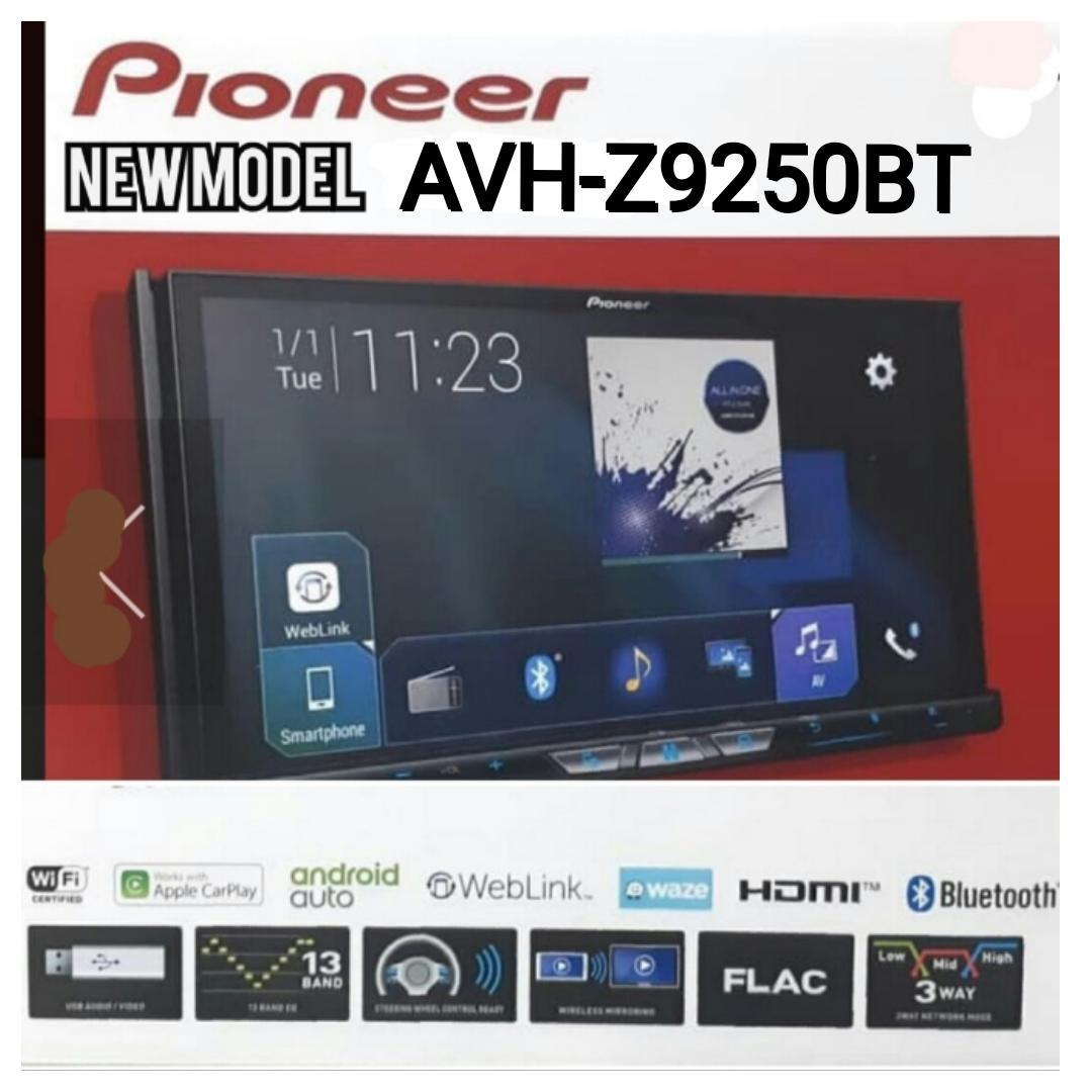 New Model Pioneer AVH-Z9250BT head unit with Android Auto