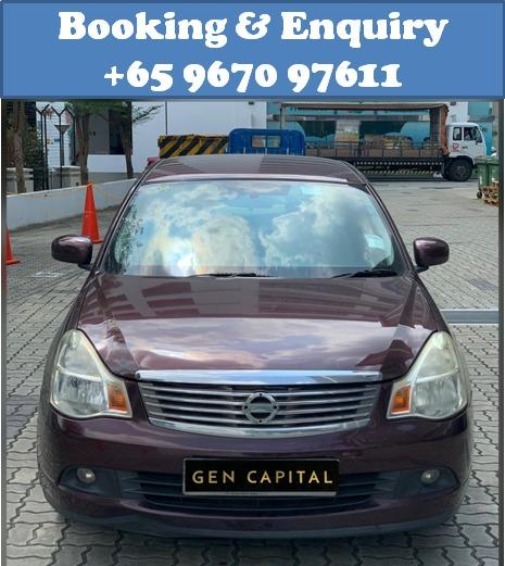 Nissan Sylphy 1.5A @ Best rates, full servicing provided!