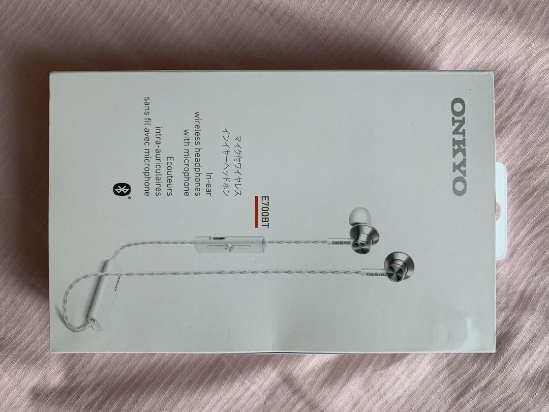 Onkyo E700BT wireless Bluetooth headphone