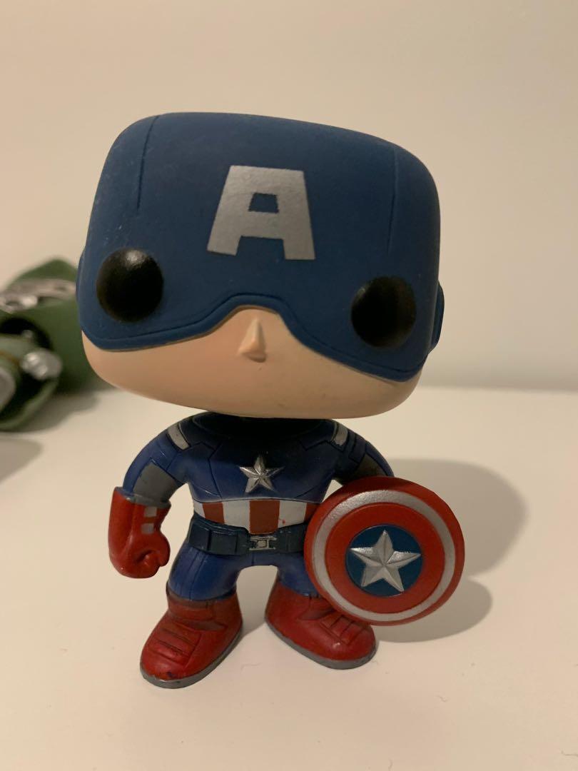 Original Avengers Captain America #10 Pop Vinyl - Out of Box