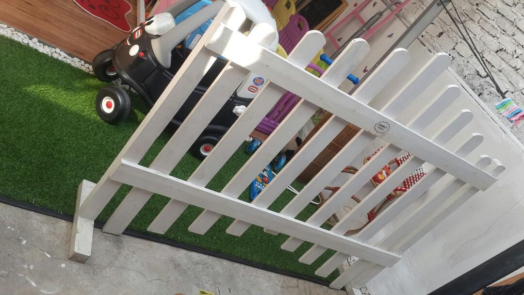 Pagar Kayu Jati Belanda Home Furniture On Carousell