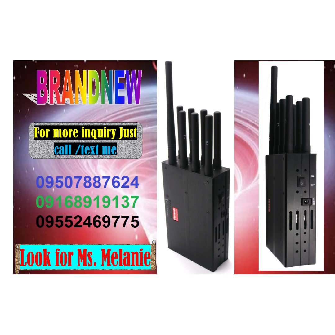 Portable Signal Jammer with Good Condition are Now Available on