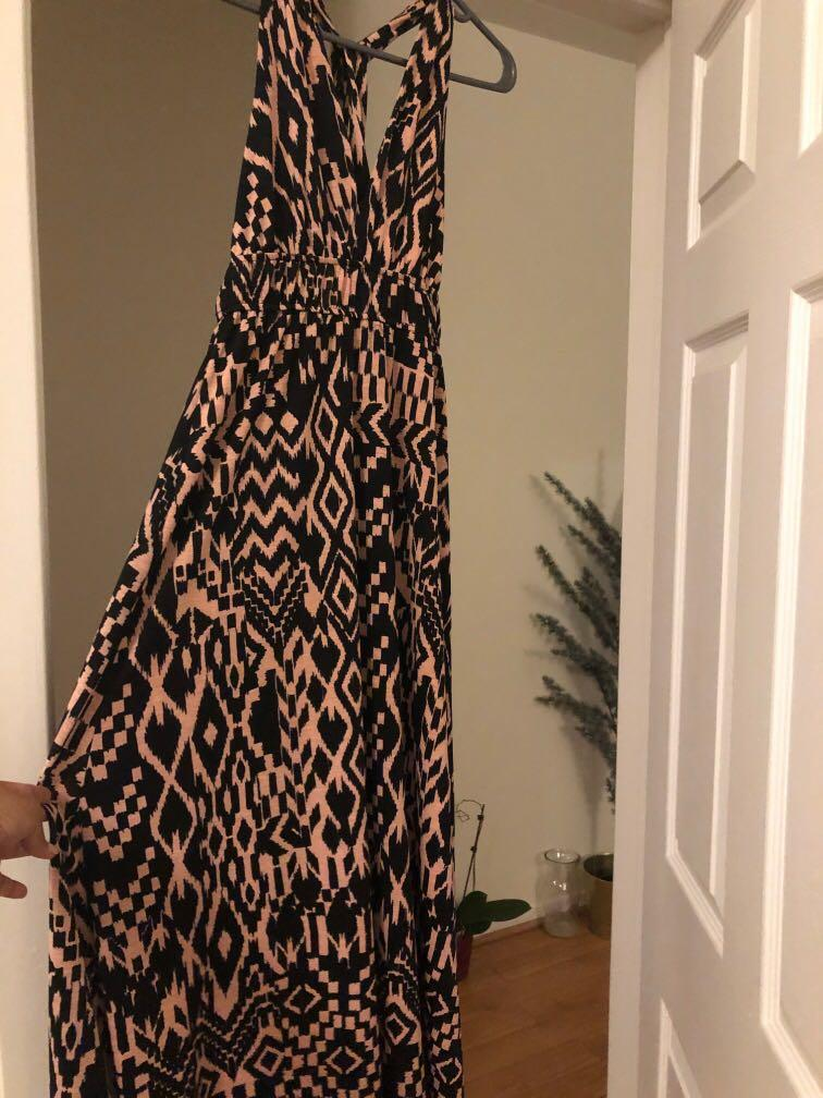 Printed summer maxi dress from Jean Machine- worn once