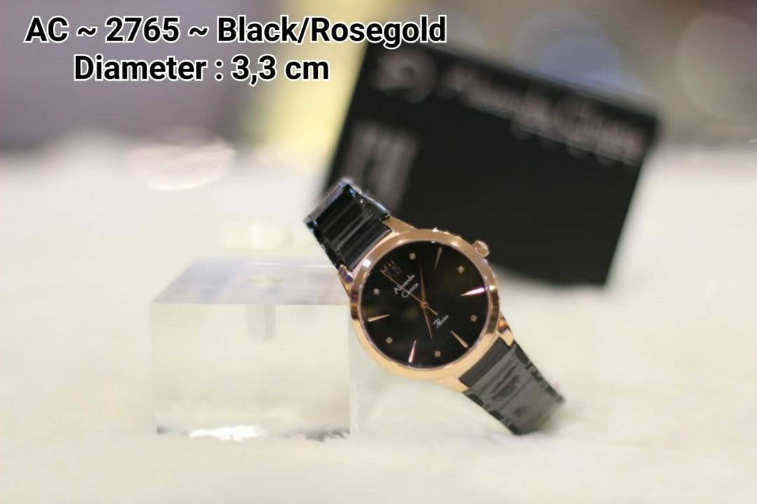 Real pict Gti@ALEXANDRE CHRISTIE #cL 2675 ~ IDR : 1.020K NET ~ Silver/Rosegold